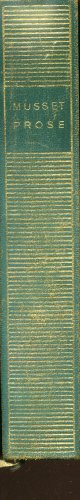 9782070103898: Alfred de Musset : Oeuvres complètes en prose