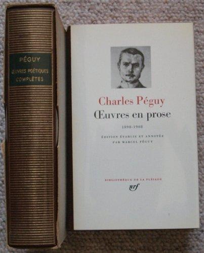 9782070104390: Oeuvres en Prose ancienne edition : 1898-1908 [Bibliotheque de la Pleiade] (French Edition)