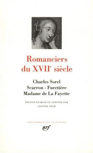 9782070104796: Romanciers du XVIIe si�cle