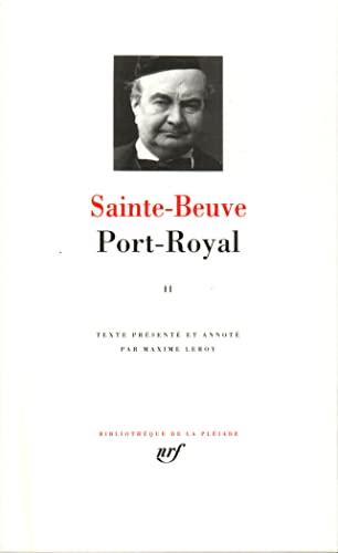 9782070104963: Port- Royal tome II : Livres III - V [Bibliotheque de la Pleiade] (French Edition)