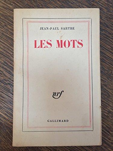 9782070105236: Les Mots