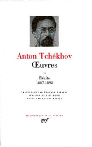 Tchékhov : Oeuvres, tome 2: Tchekhov, Anton Pavlovitch