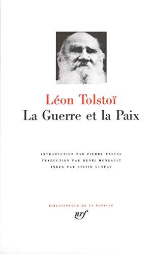 9782070105632: La Guerre Et La Paix [Bibliotheque de la Pleiade] (French Edition)