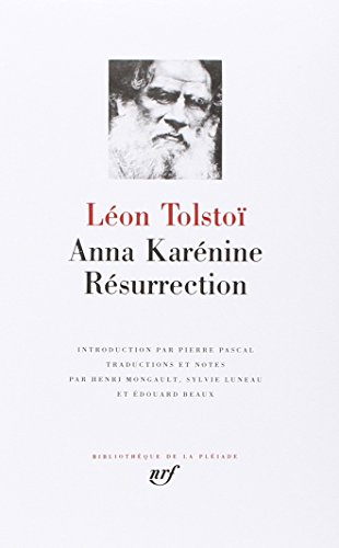 Anna Karenine / Resurrection (9782070105649) by Lev Tolstoy