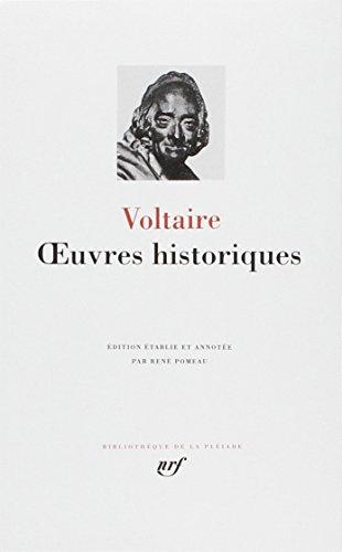 OEUVRES HISTORIQUES: VOLTAIRE