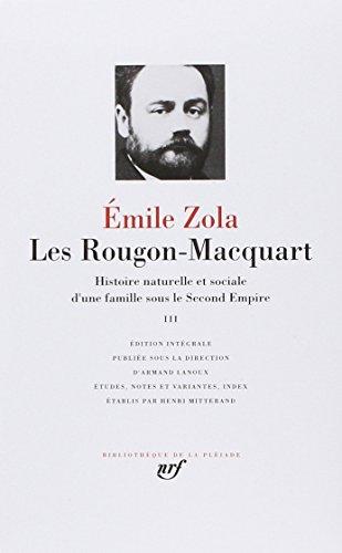 9782070105915: Les Rougon-Macquart 3 (French Edition) (Bibliotheque de la Pleiade)