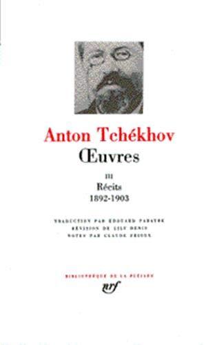 Tchékhov : Oeuvres, tome 3 (French Edition): Tchekhov, Anton Pavlovitch