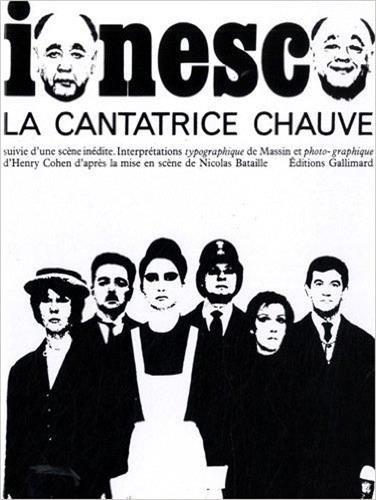 9782070107773: La Cantatrice chauve: Anti-pièce (Album beaux-livres)