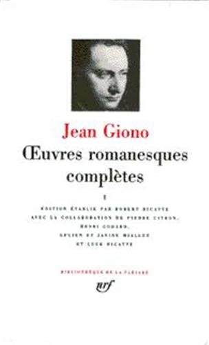 Oeuvres romanesques completes tome 3 (French Edition) (Bibliotheque de la Pleiade): Jean Giono