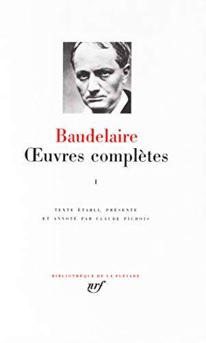 9782070108299: Oeuvres Complètes, Tome 1 (Pleiade Series) (French Edition)