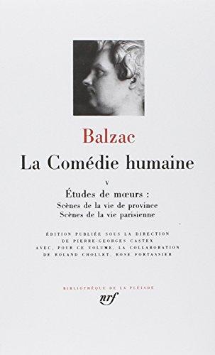 9782070108497: Balzac : La Comedie humaine, tome 5 :Bibliotheque de la Pleiade (French Edition)