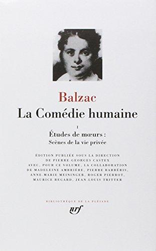 9782070108510: Balzac : La Comedie humaine, tome 1 :Bibliotheque de la Pleiade (French Edition)