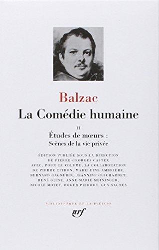 9782070108527: Balzac : La Comedie humaine, tome 2 : Bibliotheque de la Pleiade (French Edition)