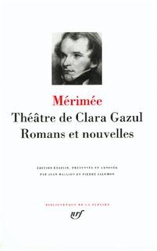 9782070109050: Theatre de Clara Azul, Romans et Nouvelles (French Edition)