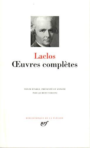 9782070109371: Choderlos de Laclos : Oeuvres compl�tes