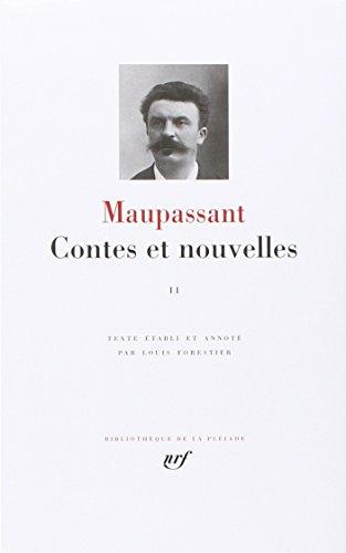 9782070109432: Maupassant : Contes et nouvelles, tome 2 : Avril 1884 - 1893
