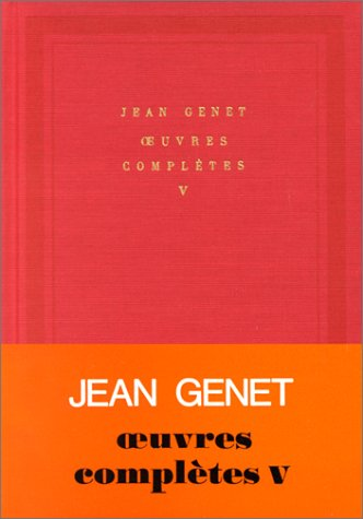 9782070109630: Oeuvres complètes, tome 5