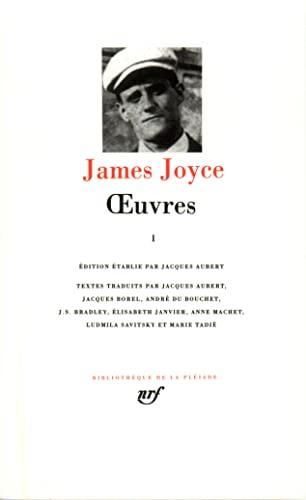 ?uvres (Tome 1-1901-1915) (Bibliothèque de la Pléiade): Joyce,James