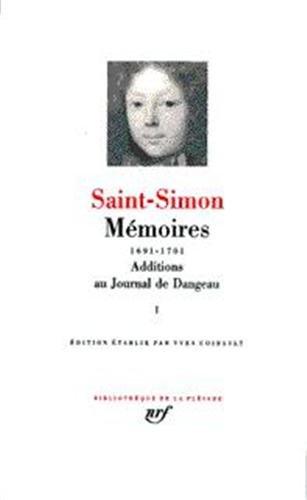 9782070110100: Saint-Simon : Memoires Tome 3, 1707-1710 [Bibliotheque de la Pleiade] (French Edition)
