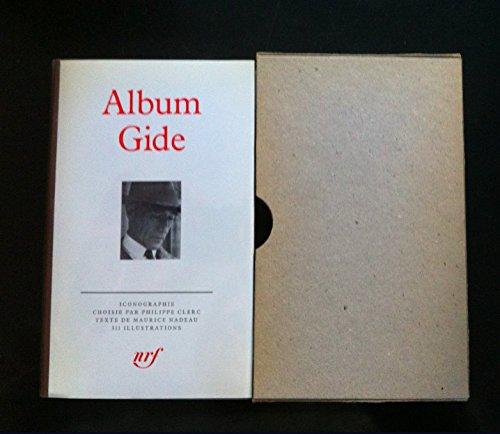 Album Gide: Iconographie choisie et commentee par Philippe Clerc (French Edition): Andre Gide