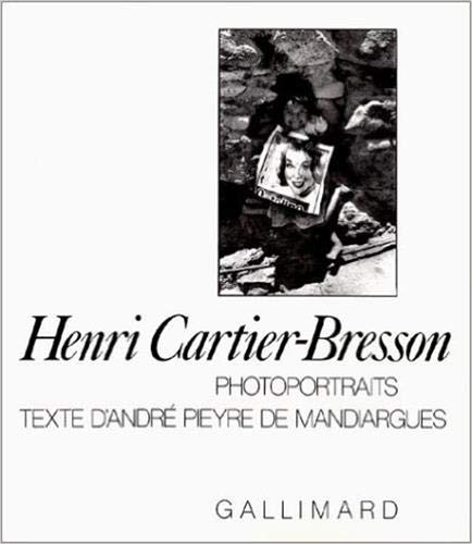 9782070110933: Photoportraits (French Edition)