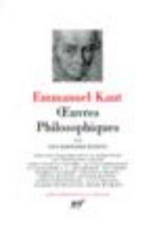 9782070111060: Immanuel Kant: OEuvres philosophiques Tome III, Les derniers ecrits [Bibliotheque de la pleiade] (French Edition)