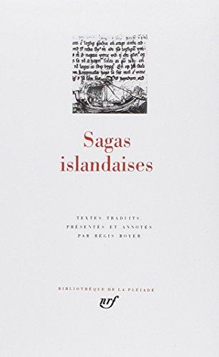 9782070111176: Sagas islandaises (The Saga of Icelanders) [Bibliotheque de la Pleiade] (French Edition) (Bibliothèque de la Pléiade)