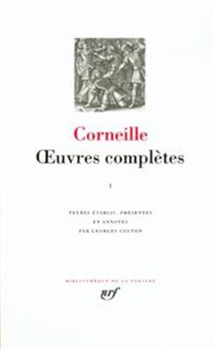 Corneille : Oeuvres complètes, tome 3 Corneill.: CORNEILLE, PIERRE