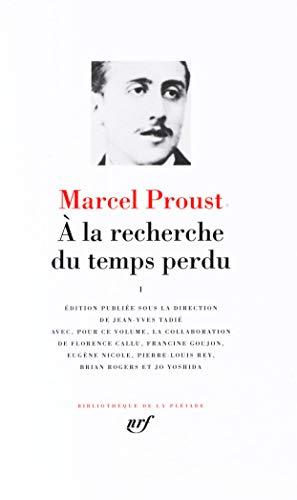 9782070111268: A la recherche du temps perdu, Vol. 1 (Bibliotheque de la Pleiade) (French Edition)