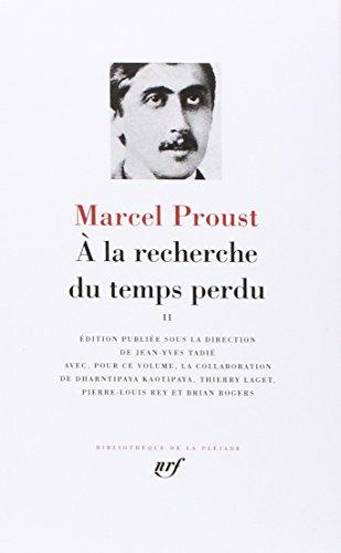 A LA Recherche Du Temps Perdu (Pleiade: Marcel Proust