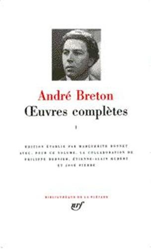 9782070111381: Breton : Oeuvres complètes, tome 1