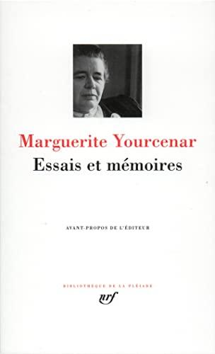 9782070112128: Essais et mémoires (Bibliothèque de la Pléiade)