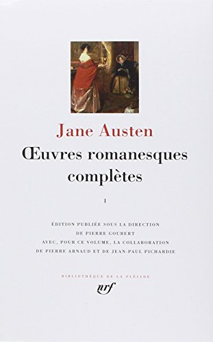 9782070113231: Jane Austen : OEuvres romanesques completes, tome 1 [Bibliotheque de la Pleiade] (French Edition)