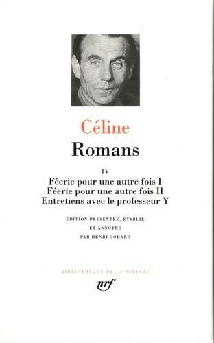 9782070113361: Romans (Tome 4) (Bibliothèque de la Pléiade)
