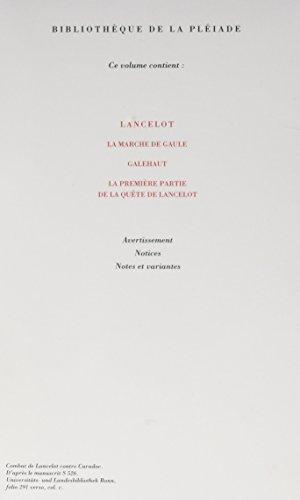 9782070113439: Le Livre du Graal, Tome 2 : Lancelot ; La Marche de Gaule ; Galehaut ; La Première Partie de la quête de Lancelot