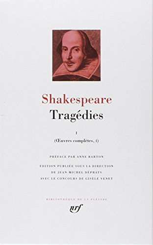 9782070113620: OEuvres completes, I, II ; Tragedies Tome I - edition bilingue [Bibliotheque de la Pleiade] (French Edition)