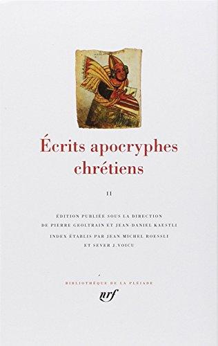 ÉCRITS APOCRYPHES CHRÉTIENS T02: COLLECTIF