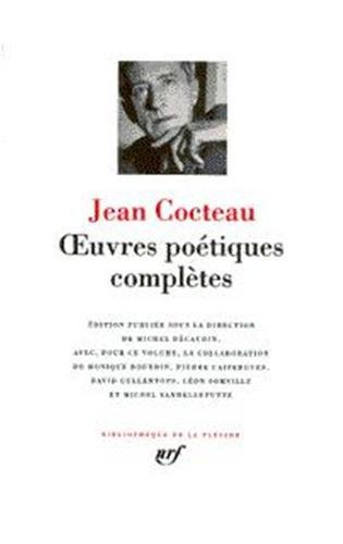 OEUVRES POÉTIQUES COMPLÈTES T01: COCTEAU JEAN