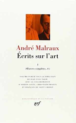 9782070113996: Œuvres complètes, IV, V : Écrits sur l'art (Tome 1) (Bibliothèque de la Pléiade)