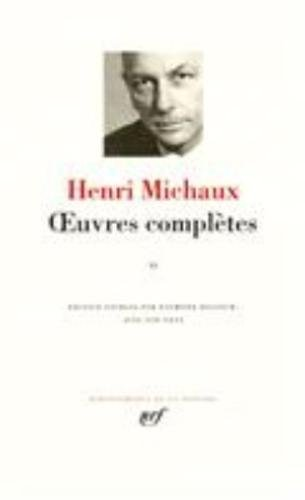 9782070114023: Michaux : Oeuvres complètes, tome 2 (Bibliotheque de la Pleiade) (French Edition)
