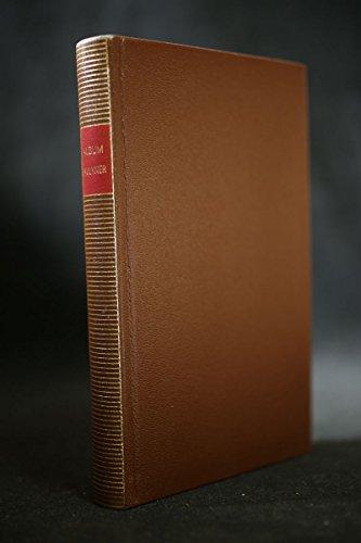 9782070114702: Album William Faulkner (Album de la Pléiade)