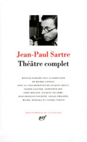 9782070115280: Sartre Theatre Complet [Bibliotheque de la Pleiade] (French Edition)