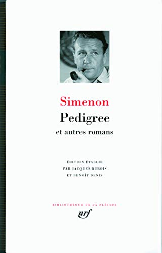 Pedigree ET Autres Romans - Leatherbound (French Edition): Simenon, Georges
