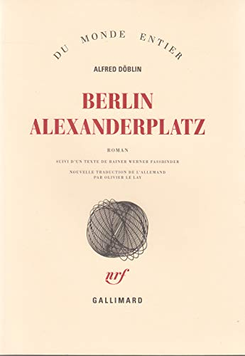 9782070119714: Berlin Alexanderplatz (French Edition)