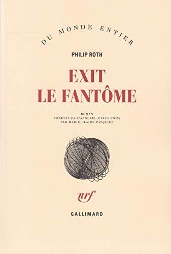 9782070120161: Les livres de Zuckerman:Exit le fantôme