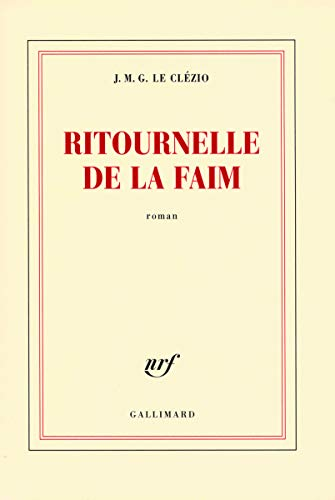 9782070122837: Ritournelle de la Faim (French Edition)