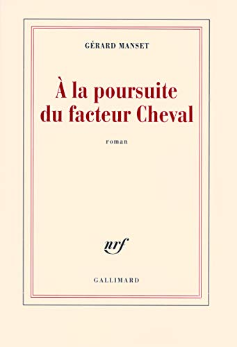 9782070123421: � la poursuite du facteur Cheval