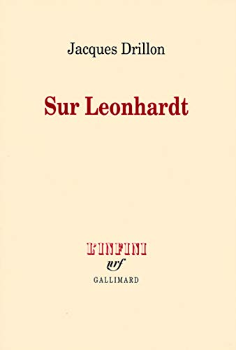 9782070124671: Sur Leonhardt (French Edition)