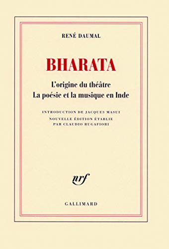 Bharata (French Edition): René Daumal