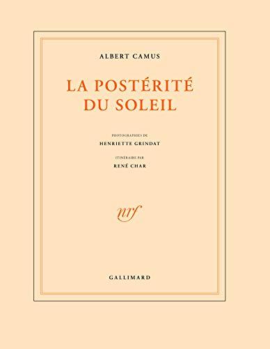 Posterite Du Soleil, LA: Camus, Albert